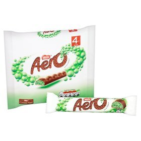 Original Aero Peppermint Bubbly Bar Multipack Imported From The UK England ()