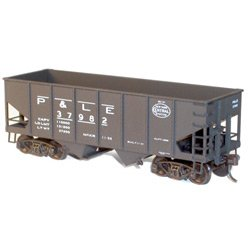 - Accurail HO KIT 55-Ton USRA Twin Hopper, P&LE ACU2570