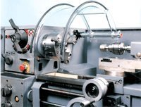 "Latheguard Model 13061 / 12 - 16"" Lathes / 8"" H x 8"" W x 15.8"" L / with chucks up to 12"" Dia. / 11-1/2"" Tube Lgth."