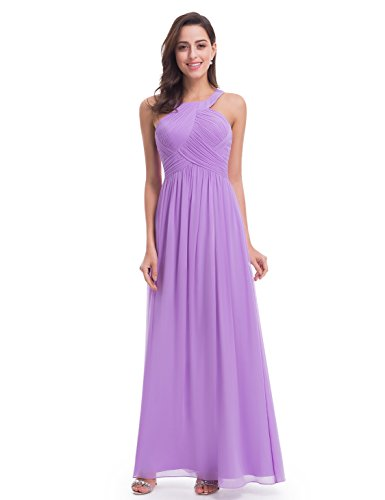 Ever Pretty Womens Long Mother of the Bride Dress 10 US Lavender