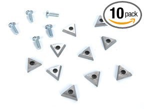 AMMCO 940435 Accu-Turn Style Combination Carbide Bits 10 Pack