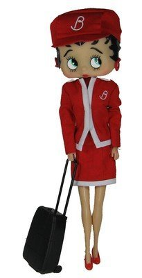 Precious Kids 31133 Flight Attendance Betty Boop Fashion Doll