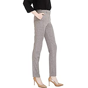 Marycrafts Women's Office Work Dress Slacks Pants Trousers Tall