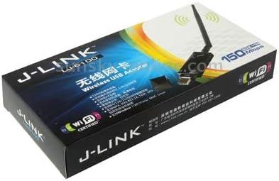 Timemall 2.4GHz 22dBi RP-SMA Antenna for Router Network J-Link LJ-6100 150Mbps Mini USB 802.11n//g//b Wireless WiFi Network Card LAN Adapter with Antenna, USB 2.0 Wireless Network Card with Antenna