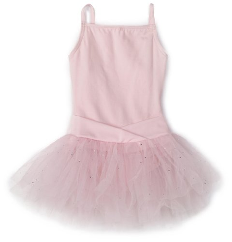 Capezio Little Girls' Camisole Tutu Dress,Pink,S (4-6)