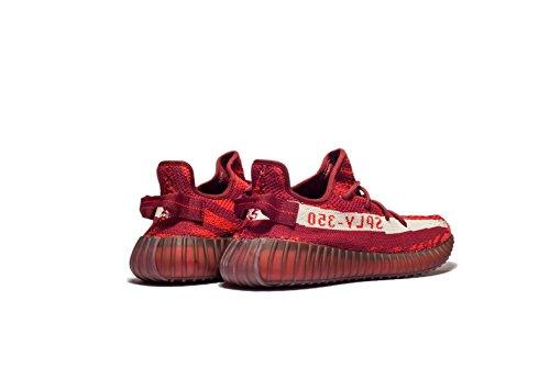 Stimuler 350 V2 Les Hommes Et Les Femmes Neutres Chaussures De Sport Zèbre Série Chaussures Zèbre Rouge De Sport