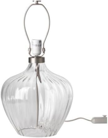 IKEA BRAN Table lamp base, clear