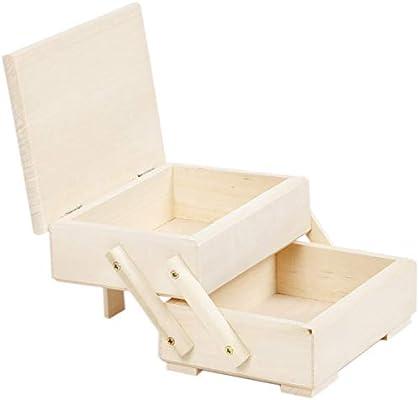 Costurero pequeño – Costurero Costurero Costurero (Caja de madera ...