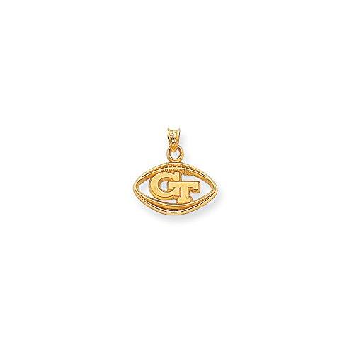 Jewelry Pendants & Charms Themed Charms 14k Collegiate Georgia Tech -