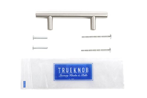 (25 Pack) 5 inch TrueKnob SOLID Stainless Steel Cabinet Pull Hardware | Brushed Satin Nickel Finish | 5'' Hole Centers | (25 Pack) (25) by TrueKnob (Image #8)