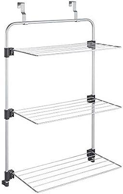 Metaltex Gale Tendedero para Puerta/mampara, Epotherm, Gris, 11 m: Amazon.es: Hogar