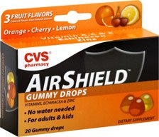 61de980c7a8e Amazon.com  CVS Airshield Echinacea   Zinc Gummy Drops Assorted ...