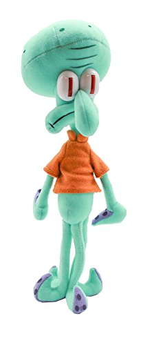 Nickelodeon Universe Spongebob Squarepants Squidward Tentacles Plush Figure -