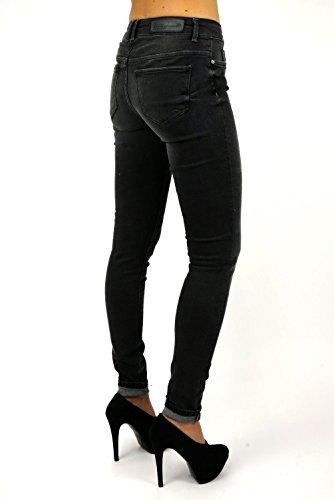 ONLY Femme Gris Jeans Gris Gris Gris FqFZ5r