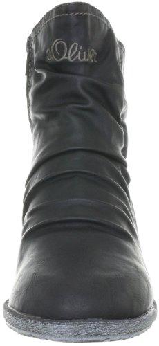 s.Oliver Casual 5-5-56424-29 Mädchen Stiefel Schwarz (BLACK 1)