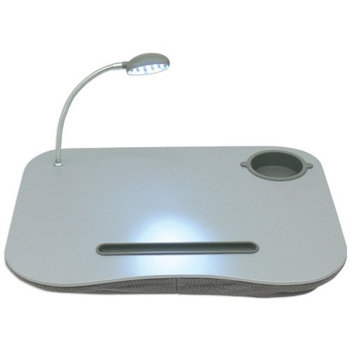 QVS LD-LED notebook stand with LED light, Gray from QVS