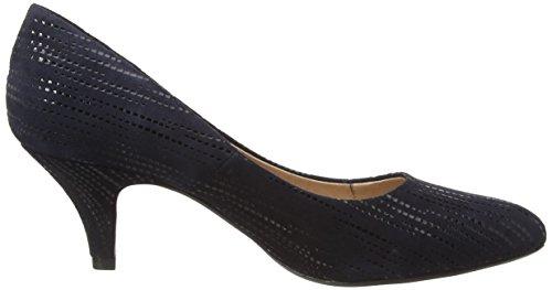 Lotus Women's Dandelion Closed-Toe Pumps Blue (Navy Leather) 6yh6pc4