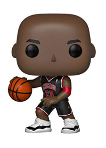 POP! NBA Bulls Michael Jordan Vinyl Figure (Black Jersey) #55 Exclusive