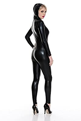 Music Legs Women's Wet Look Body Suit