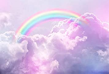 amazon com baocicco 10x8ft beautiful rainbow backdrop cartoon sweet clouds pink clouds photography background girl s birthday party clouds party baby shower for angels tea party little angels girls photo camera baocicco 10x8ft beautiful rainbow backdrop cartoon sweet clouds pink clouds photography background girl s birthday party clouds party baby shower for