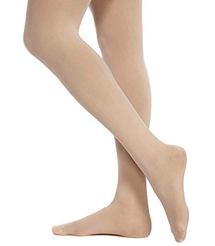 Danskin womens Ultrasoft Microfiber Footed Tight, Theatrical Pink, B