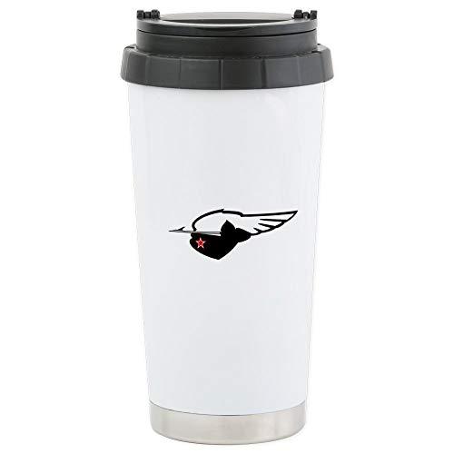 CafePress Travel Mug Stainless Steel Travel Mug, Insulated 16 oz. Coffee Tumbler