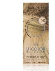 U Color by Umberto Italian Demi Color 10.0 Extra Light Natural Blonde