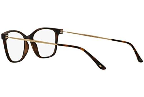 352ac6bb7d ... Giorgio Armani Montures de lunettes 7094 Pour Femme Black, 50mm 5089:  Matte Tortoise ...
