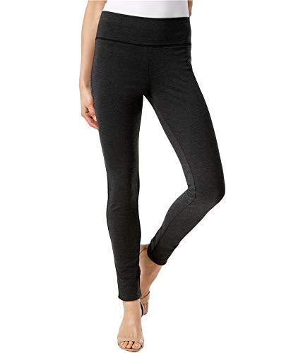 INC Womens Core Fashion Regular Fit Skinny Leg Yoga Legging Gray 6