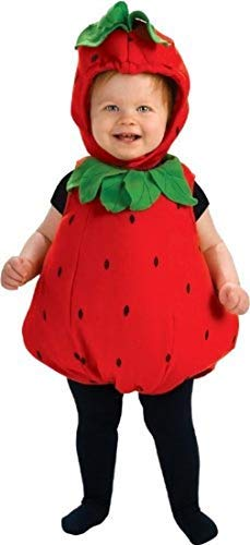Rubie's Berry Cute Costume - Infant, Red, 6 - 12 Months -