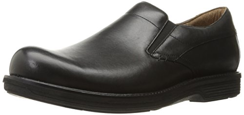Dansko Jackson Slip-On Loafer, Black Antiqued Calf, 42 (US Men's 8.5-9) Regular - Black Calf Loafer Shoes