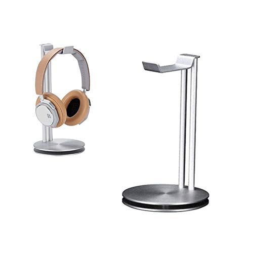 KOBWA - Soporte Doble Auriculares, Soporte Auriculares Bose, Beats, Sony, Philips, JVC, Juegos DJ, etc. Compatibilidad...