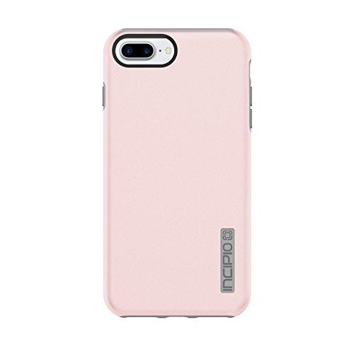 (Incipio DualPro Protective Case with Dual Layer for Apple iPhone 7 Plus / 8 Plus - Iridescent Rose Quartz / Gray)