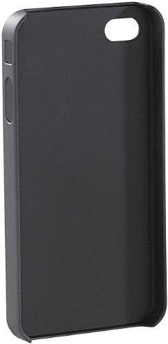 Xcase iPhone 4 Case: Premium-Schutzcover mit Alu-Blende für iPhone 4/4s, silber (Hülle iPhone 4s)