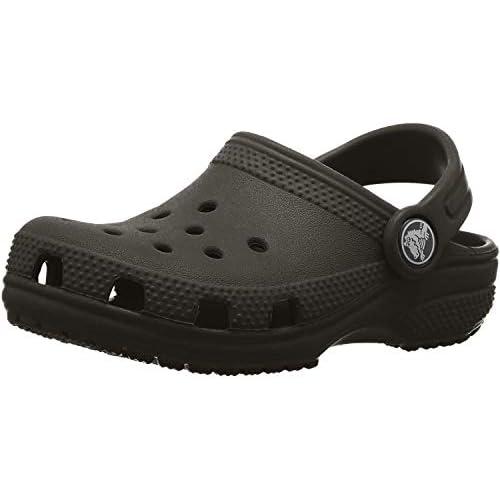 chollos oferta descuentos barato Crocs Classic Clog K Zuecos Unisex Niños Negro Black 34 35 EU
