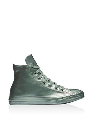 Converse AS Hi Can charcoal 1J793 Unisex-Erwachsene Sneaker Metallic Silver