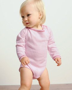 Bella Infant 4.5 oz. Long-Sleeve Thermal One-Piece