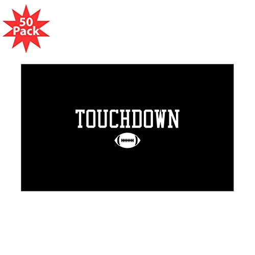CafePress - Touchdown - Sticker (Rectangle 50 pk) by CafePress