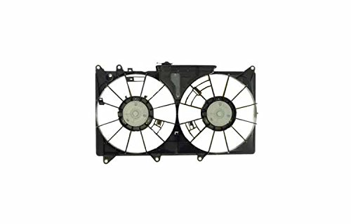 Lexus Is300 Replacement Ac Condenser & Radiator Cooling Fan Shroud