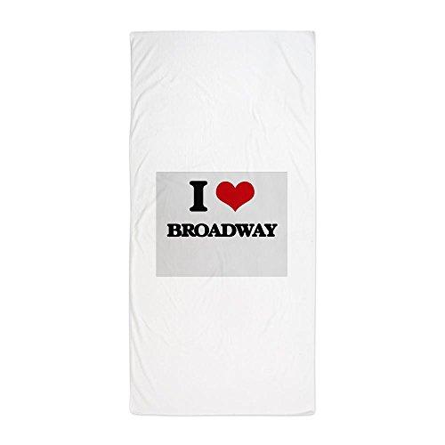 CafePress - Broadway - Large Beach Towel, Soft 30