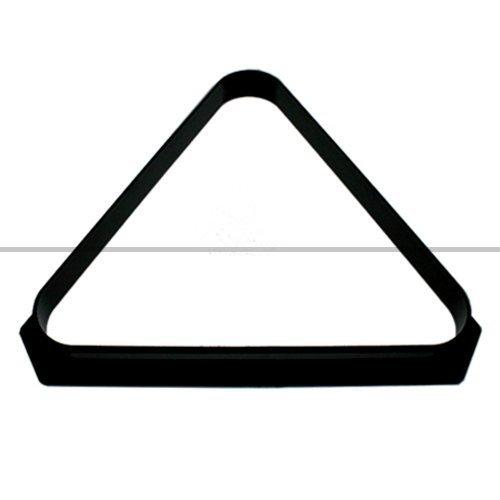 Black Plastic Triangle for 10x 2 Balls