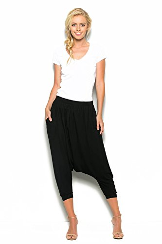 Black Harem Pants - 9