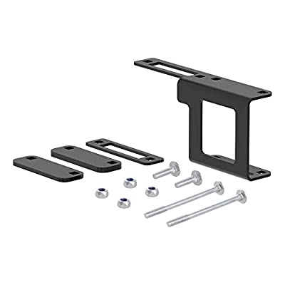 CURT 58002 Easy-Mount Vehicle Trailer Wiring Harness Connector Mounting Bracket for 4-Way or 5-Way Flat, Fits 1-1/4-Inch Receiver: Automotive
