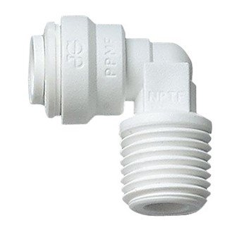 - John Guest Threaded Elbow Adapters, 3/8