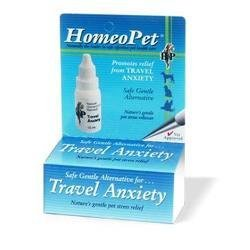 Homeo Pet Travel Anxiety Relief for Pets -- 0.08 fl oz