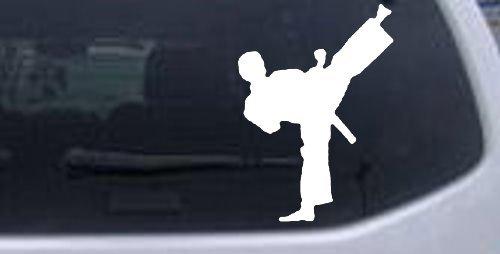 Karate Sports Window Laptop Sticker