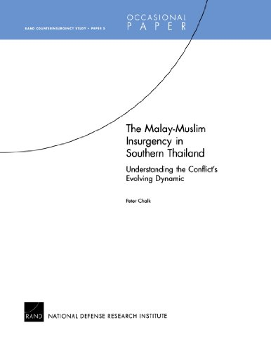 The Malay-Muslim Insurgency in Southern Thailand Understanding the Conflict's Evolving Dynamic: Rand Counterinsurgency S