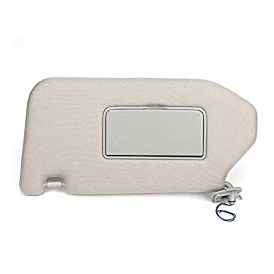 Left Driver Sun Visor for 2013-2020 Nissan Pathfinder Sunvisor,2014-2020 Infiniti QX60 Sunvisor with Mirror and Vanity Light, 96401-9PB0A: Automotive