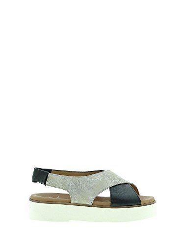 Maritan 660206 Wedge Sandals Women Black 39 DyuaVuvyZw