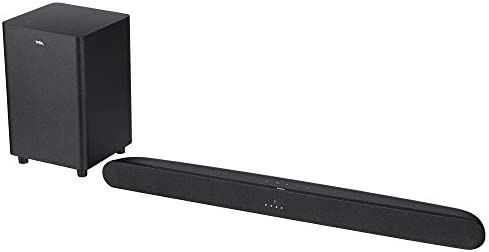 TCL Alto 6+ 2.1 Channel Roku TV Ready Home Theater Sound Bar with Wireless Subwoofer and Bluetooth – TS6110, 31.5-inch, Black
